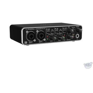 Behringer U-PHORIA UMC204HD - USB 2.0 Audio Interface