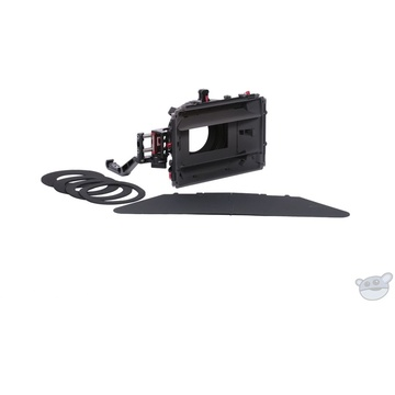 Vocas MB-455 Rod Mounted Swing Away Matte Box Kit with Rubber Donuts