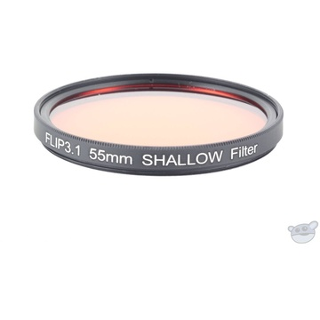 Flip Filters 55mm Threaded Underwater Colour Correction Red Filter for GoPro (SHALLOW)