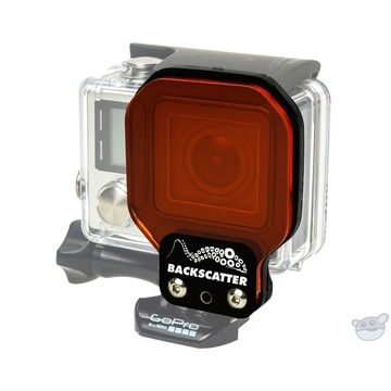 Flip Filters Backscatter FLEX SHALLOW Filter for GoPro Standard Housing