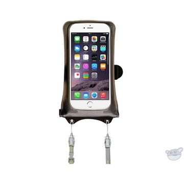 """DiCAPac Waterproof Floating Action Case for Smartphones up to 4.7"""""""