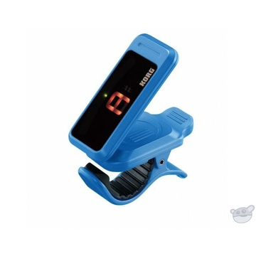 Korg PC1 Pitchclip Headstock Clip-On Tuner (Blue)