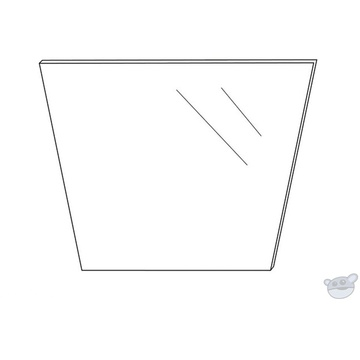 Datavideo TP-300B Replacement Glass