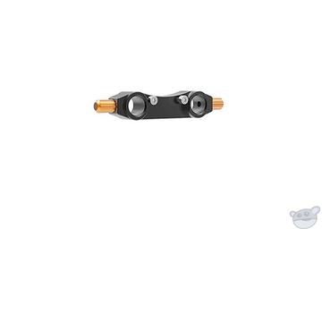 Bright Tangerine 15mm Lightweight Rod Bracket Type 3