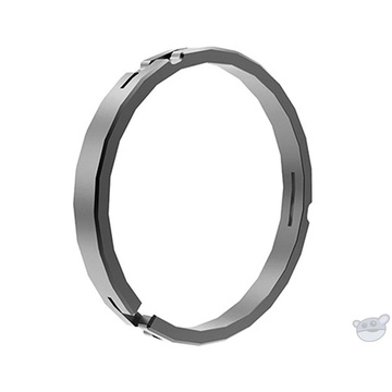 Bright Tangerine 114 to 104mm Clamp-On Ring for Misfit