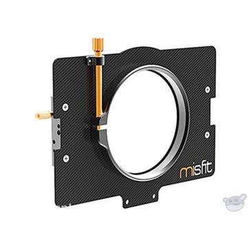 Bright Tangerine 87mm Clamp Lens Attachment for Misfit Matte Box