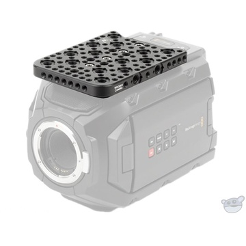Wooden Camera Top-Mounted Cheese Plate for Blackmagic URSA Mini Camera