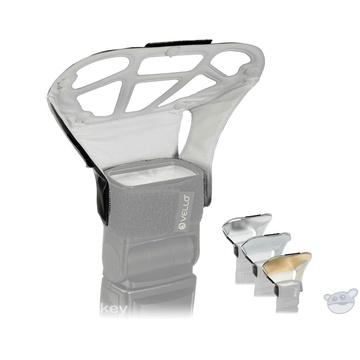 Vello Light Bouncer Plus for Portable Flashes