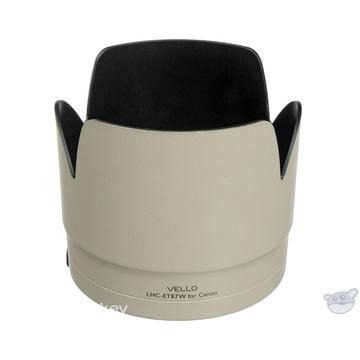 Vello ET-87W Dedicated Lens Hood (White)