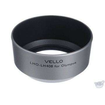 Vello LH-40B Dedicated Lens Hood (Silver)