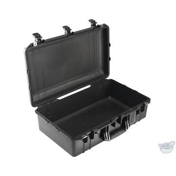 Pelican 1555 Air Carry-On Case (Black, No Foam/Empty) | NZ