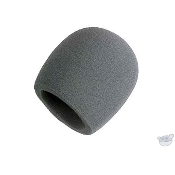 Shure A58WS - Gray Windscreen for Ball Type Microphones
