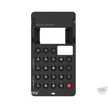 Teenage Engineering CA-28 Silicone Pro Case for Pocket Operator PO-28 (Black & Red)
