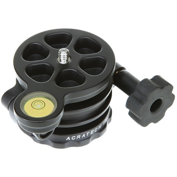"""Acratech Leveling Base for Tripods with 1/4""""-20 Thread Head Mount"""