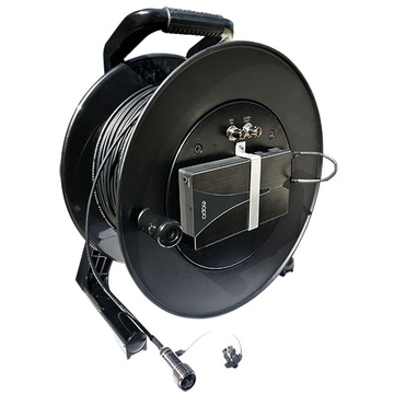Tactical Fiber Systems CamLink Plus Fibre Transmission System Cable Reel (500 ft)