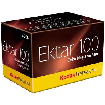 Kodak Professional Ektar 100 Color Negative Film (35mm Roll Film, 36 Exposures)