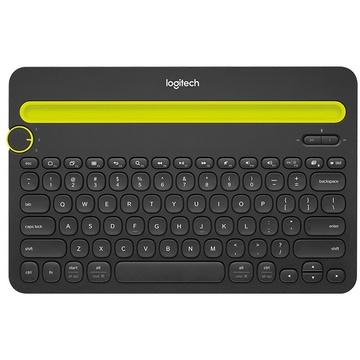 Logitech K480 Bluetooth Multi-Device Keyboard (Black)