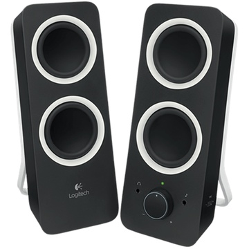 Logitech Z200 Multimedia Speakers (Black)