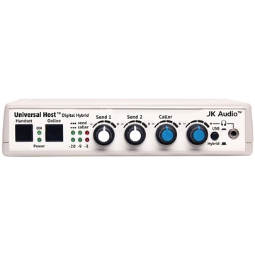 JK Audio Universal Host Desktop Digital Hybrid Telephone Interface