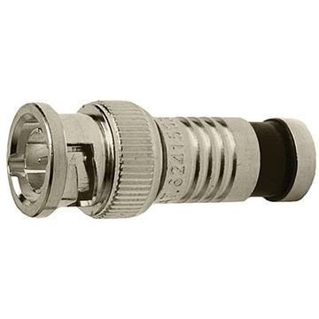Platinum Tools SealSmart Coax Compression BNC Connector for RG-6 Cable (Jar of 40)