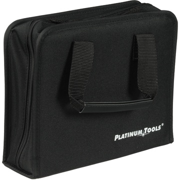 Platinum Tools 4002PT Nylon Zippered Case with Handles (Black)