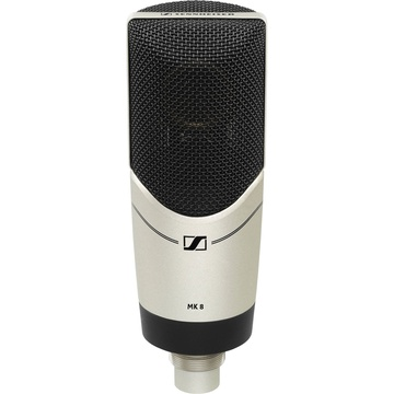 Sennheiser MK 8 Multiple-Pattern Large Diaphragm Condenser Microphone