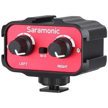 Saramonic SR-AX100 2-Channel Universal Audio Adapter for DSLR
