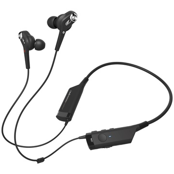 Audio Technica ATH-ANC40BT QuietPoint Noise-Cancelling Wireless In-Ear Headphones