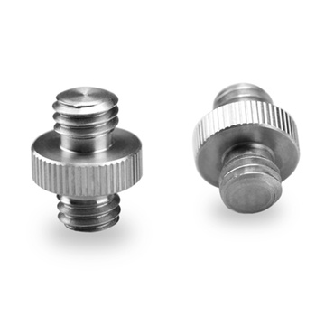 """SmallRig 1065 Double Head Stud with 3/8"""" to 3/8"""" thread (2 pcs)"""
