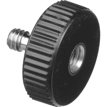 """Desmond Short Shaft 1/4""""-20 Male and Female Screws with Plastic Base (10-Pack)"""