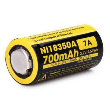 NITECORE NI18350A Flat Top Battery