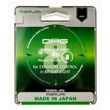 Marumi 62MM DHG ND8 Neutral Density Filter