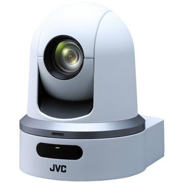 JVC KY-PZ100WE Robotic PTZ network video production camera (white)