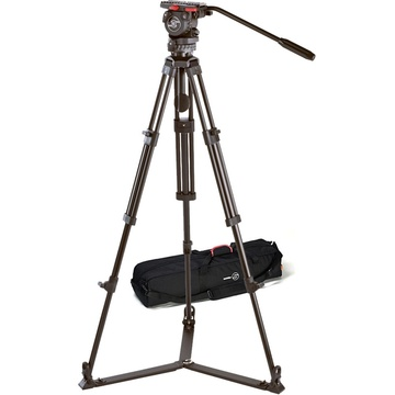 Sachtler 0371 Aluminum Tripod System with FSB 4 Head, ENG 75/2 Legs, Ground Spreader