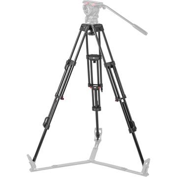 Sachtler DA-100 ENG 2D Aluminum 2-Stage Tripod Legs (100mm Bowl)