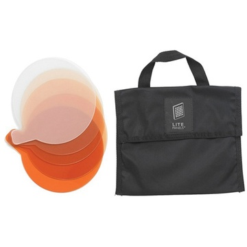 Litepanels CTO 5-Piece Gel Set with Bag for Sola 12 Fresnel