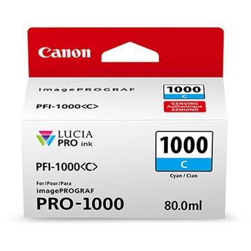 Canon PFI-1000 C LUCIA PRO Cyan Ink Cartridge (80ml)