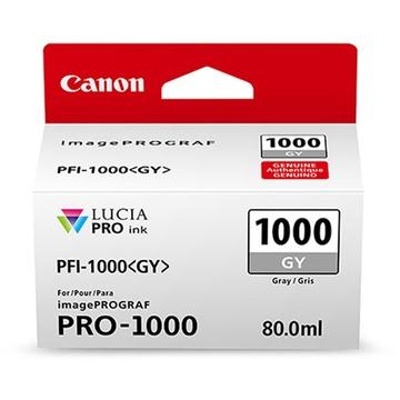 Canon PFI-1000 GY LUCIA PRO Gray Ink Cartridge (80ml)