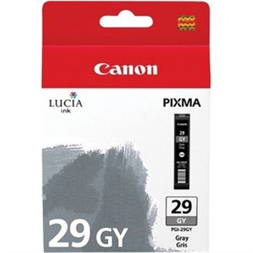 Canon PGI-29 LUCIA Gray Ink Cartridge