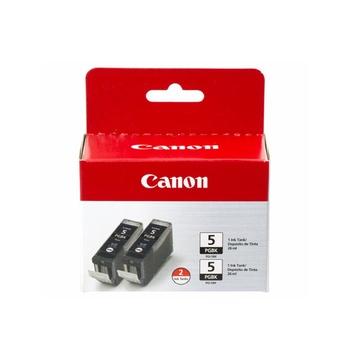 Canon PGI-5BK Black Cartridge Tank Twin Pack