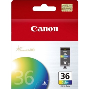 Canon CLI-36 ChromaLife100 Tri-Color Ink Cartridge