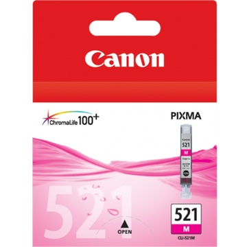 Canon CLI-521 M ChromaLife100 Magenta Ink Cartridge