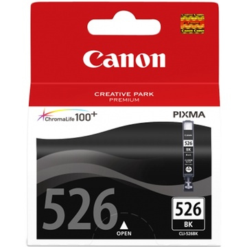 Canon CLI-526 ChromaLife100 Black Ink Cartridge