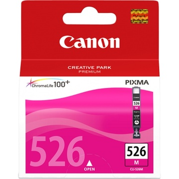 Canon CLI-526 ChromaLife100 Magenta Ink Cartridge