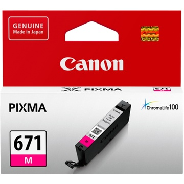 Canon CLI-671 ChromaLife100 Magenta Ink Cartridge