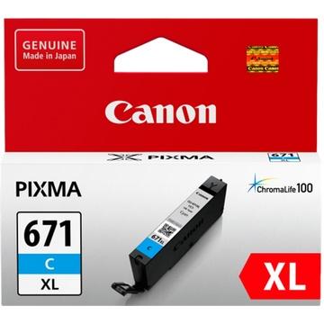 Canon CLI-671XL ChromaLife100 Extra Large Cyan Ink Cartridge