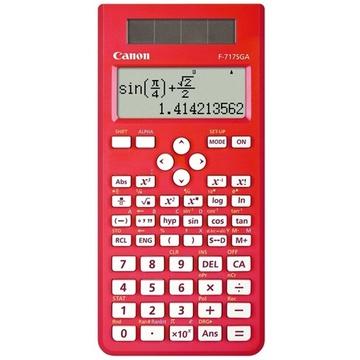 Canon F717SGA Scientific Calculator 242 Function (Red)