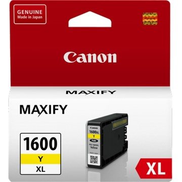Canon PGI-1600 Extra Large Yellow Ink Cartridge