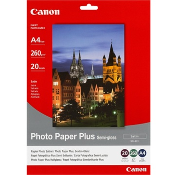 Canon SG-201 A4 Semigloss Photo Paper (20 Sheets)