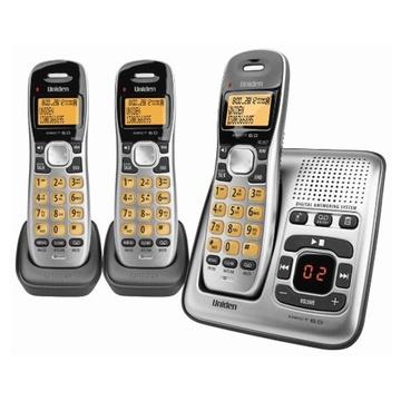Uniden DECT1735+2 Digital DECT Cordless phone with Answer Machine (Triple)